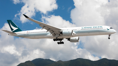 B-LXM - Airbus A350-1041 - Cathay Pacific Airways