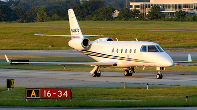 N428JD - Gulfstream G150 - Private