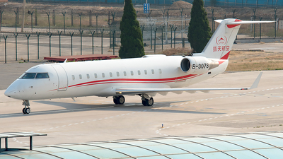 B-3078 - Bombardier CL-600-2B19 Challenger 850 - Private