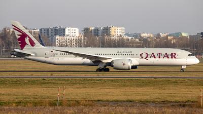 A picture of A7BHG - Boeing 7879 Dreamliner - Qatar Airways - © Karol Trojanowski