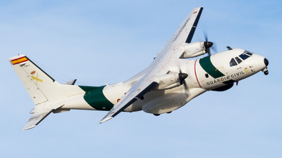 T.19B-21 - CASA CN-235MPA - Spain - Guardia Civil