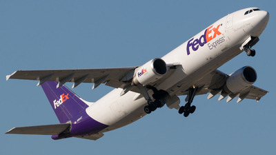 A picture of N664FE - Airbus A300F4605R - FedEx - © Positive Rate Photography