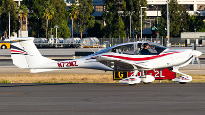 N72MZ - Diamond DA-40 Diamond Star - Private