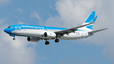 LV-GKT - Boeing 737-887 - Aerolíneas Argentinas