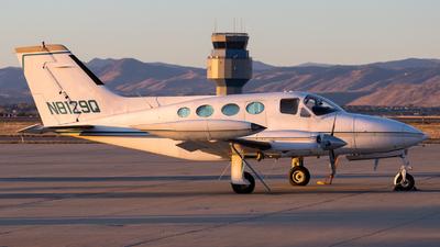 N8129Q - Cessna 414 Chancellor - Private