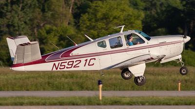 N5921C - Beechcraft C35 Bonanza - Private