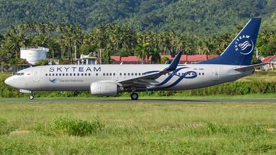 PK-GMH - Boeing 737-8U3 - Garuda Indonesia