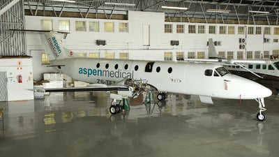 ZS-TFZ - Beech 1900C-1 - Aspen Medical