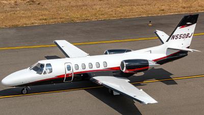 N550BJ - Cessna 550 Citation II - Private