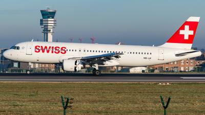 HB-IJF - Airbus A320-214 - Swiss