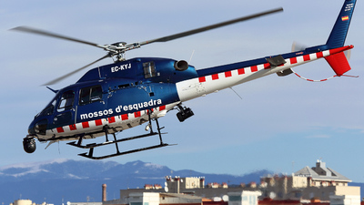 EC-KYJ - Eurocopter AS 355N Ecureuil 2 - Spain - Government of Catalonia