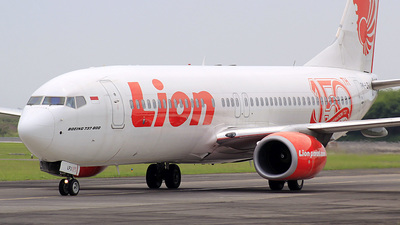 PK-LPJ - Boeing 737-8GP - Lion Air