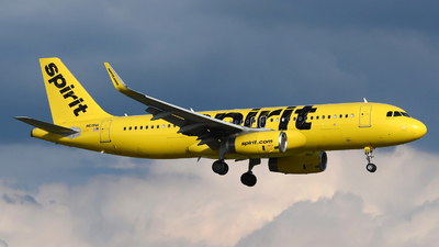 A picture of N619NK - Airbus A320232 - Spirit Airlines - © DJ Reed - OPShots Photo Team