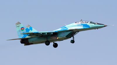 10 - Mikoyan-Gurevich MiG-29UB Fulcrum - Azerbaijan - Air Force