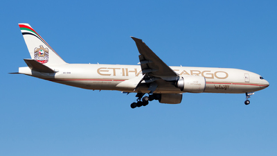 A picture of A6DDB - Boeing 777FFX - Etihad Airways - © Oliver Richter