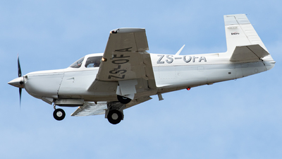 ZS-OFA - Mooney M20K - Private