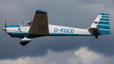A picture of DKOCD - Scheibe SF 25 C Rotax Falke - [44492] - © Alexander Zur