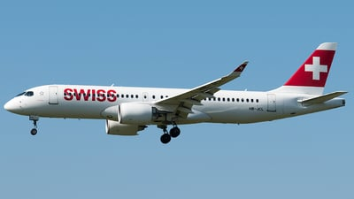 A picture of HBJCL - Airbus A220300 - Swiss - © Rosser