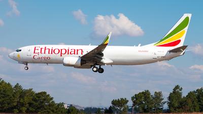 ET-AWC - Boeing 737-83N(BCF) - Ethiopian Cargo