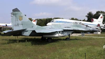 06 - Mikoyan-Gurevich MiG-29 Fulcrum - Ukraine - Air Force
