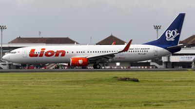 PK-LJO - Boeing 737-9GPER - Lion Air