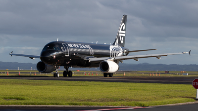 ZK-OAB - Airbus A320-232 - Air New Zealand