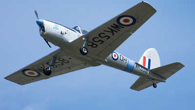 A picture of GARMG - De Havilland Canada DHC1 Chipmunk - [C1/0575] - © Tomo-Papa