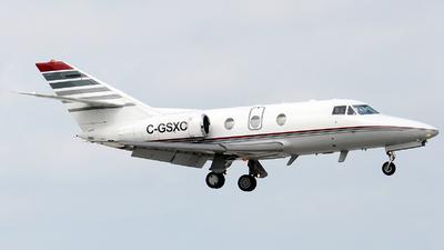 A picture of CGSXC - Dassault Falcon 10 - Air Nunavut - © Alexander Portas