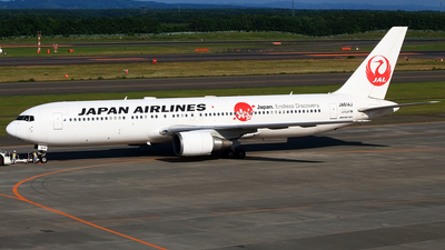 JA614J - Boeing 767-346(ER) - Japan Airlines (JAL)