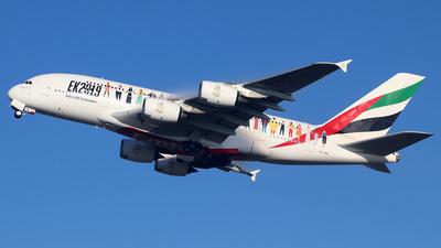 A6-EVB - Airbus A380-842 - Emirates