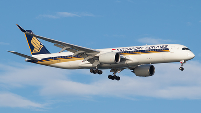 9V-SHL - Airbus A350-941 - Singapore Airlines