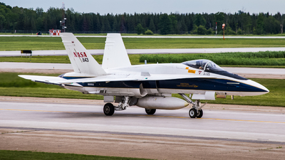 N843NA - McDonnell Douglas F/A-18A Hornet - United States - National Aeronautics and Space Administration (NASA)