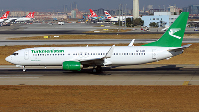 EZ-A015 - Boeing 737-82K - Turkmenistan Airlines