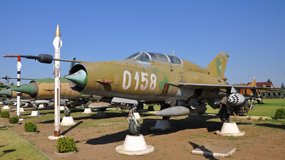 0158 - Mikoyan-Gurevich MiG-21UM Mongol B - Hungary - Air Force