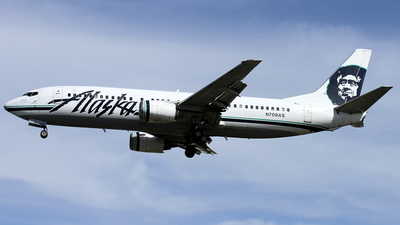 N708AS - Boeing 737-490 - Alaska Airlines