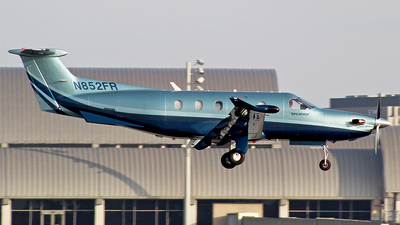 N852FR - Pilatus PC-12/47 - Private