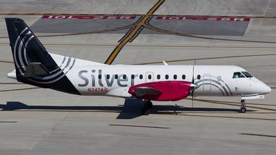N347AG - Saab 340B - Silver Airways
