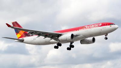 N795AV - Airbus A330-243 - Avianca