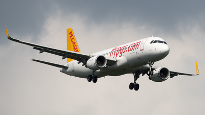 A picture of TCDCI - Airbus A320216 - Pegasus Airlines - © David W. Wilson
