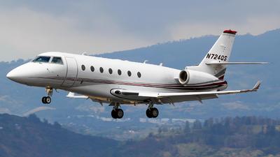N724QS - Gulfstream G200 - NetJets Aviation