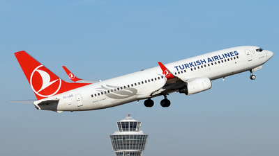 TC-JGD - Boeing 737-8F2 - Turkish Airlines