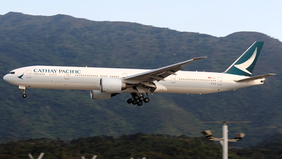 A picture of BKPA - Boeing 777367(ER) - Cathay Pacific - © Paul Y. M. Chow - AHKGAP