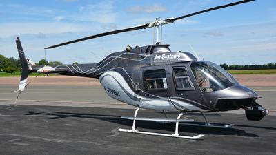 F-GVOB - Bell 206B JetRanger III - Jet Systems Hélicoptères Service