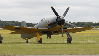 G-CBEL - Hawker Sea Fury FB.11 - Private