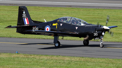 ZF210 - Short Tucano T.1 - United Kingdom - Royal Air Force (RAF)