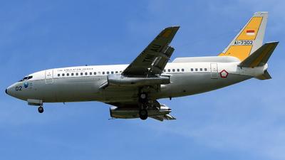 AI-7302 - Boeing 737-2X9(Adv) Surveiller - Indonesia - Air Force