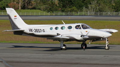 HK-2657-G - Cessna 340A - Private