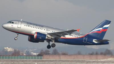 VQ-BBA - Airbus A319-111 - Aeroflot
