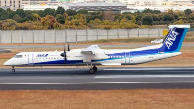 A picture of JA856A - De Havilland Canada Dash 8400 - All Nippon Airways - © LUSU