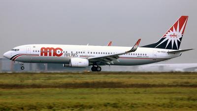 SU-BQA - Boeing 737-86N - AMC Airlines